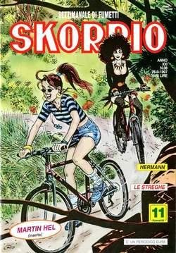 Copertina SKORPIO ANNO 21 n.38 - SKORPIO 1997            38, EDITORIALE AUREA