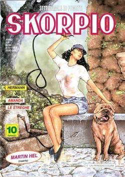 Copertina SKORPIO ANNO 21 n.39 - SKORPIO 1997            39, EDITORIALE AUREA