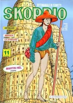 Copertina SKORPIO ANNO 21 n.40 - SKORPIO 1997            40, EDITORIALE AUREA