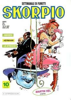 Copertina SKORPIO ANNO 21 n.41 - SKORPIO 1997            41, EDITORIALE AUREA