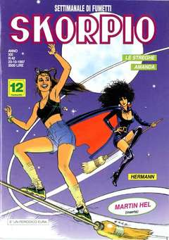 Copertina SKORPIO ANNO 21 n.42 - SKORPIO 1997            42, EDITORIALE AUREA