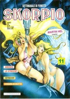 Copertina SKORPIO ANNO 21 n.46 - SKORPIO 1997            46, EDITORIALE AUREA