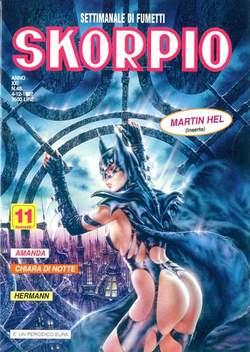 Copertina SKORPIO ANNO 21 n.48 - SKORPIO 1997            48, EDITORIALE AUREA