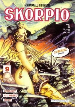 Copertina SKORPIO ANNO 21 n.4 - SKORPIO 1997             4, EDITORIALE AUREA