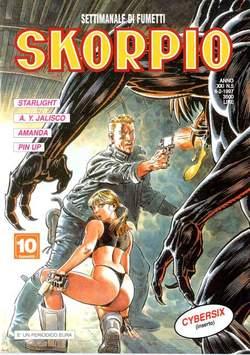 Copertina SKORPIO ANNO 21 n.5 - SKORPIO 1997             5, EDITORIALE AUREA