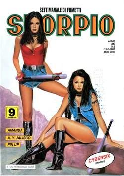 Copertina SKORPIO ANNO 21 n.6 - SKORPIO 1997             6, EDITORIALE AUREA