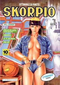 Copertina SKORPIO ANNO 21 n.8 - SKORPIO 1997             8, EDITORIALE AUREA