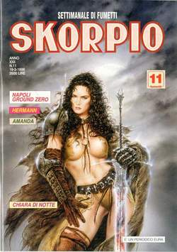 Copertina SKORPIO ANNO 22 n.11 - SKORPIO 1998            11, EDITORIALE AUREA