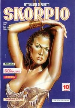 Copertina SKORPIO ANNO 22 n.12 - SKORPIO 1998            12, EDITORIALE AUREA