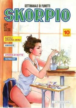 Copertina SKORPIO ANNO 22 n.15 - SKORPIO 1998            15, EDITORIALE AUREA