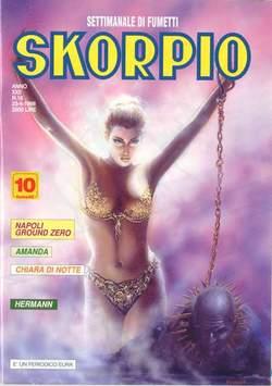 Copertina SKORPIO ANNO 22 n.16 - SKORPIO 1998            16, EDITORIALE AUREA