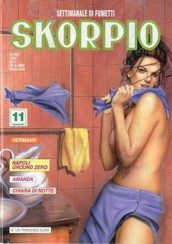 Copertina SKORPIO ANNO 22 n.17 - SKORPIO 1998            17, EDITORIALE AUREA