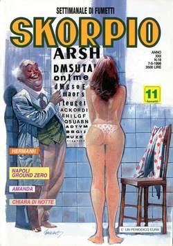 Copertina SKORPIO ANNO 22 n.18 - SKORPIO1998            18, EDITORIALE AUREA