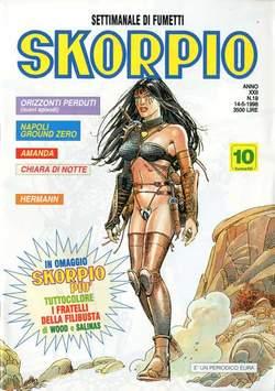 Copertina SKORPIO ANNO 22 n.19 - SKORPIO 1998            19, EDITORIALE AUREA
