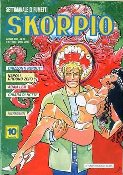 Copertina SKORPIO ANNO 22 n.22 - SKORPIO 1998            22, EDITORIALE AUREA