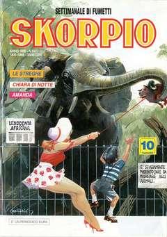 Copertina SKORPIO ANNO 22 n.24 - SKORPIO 1998            24, EDITORIALE AUREA