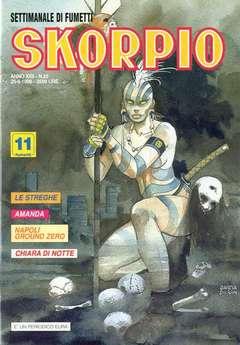 Copertina SKORPIO ANNO 22 n.25 - SKORPIO 1998            25, EDITORIALE AUREA