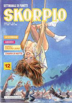 Copertina SKORPIO ANNO 22 n.26 - SKORPIO 1998            26, EDITORIALE AUREA