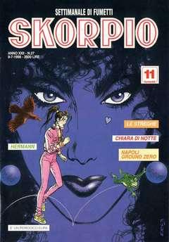 Copertina SKORPIO ANNO 22 n.27 - SKORPIO 1998            27, EDITORIALE AUREA