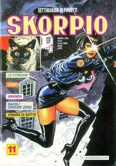 Copertina SKORPIO ANNO 22 n.32 - SKORPIO 1998            32, EDITORIALE AUREA