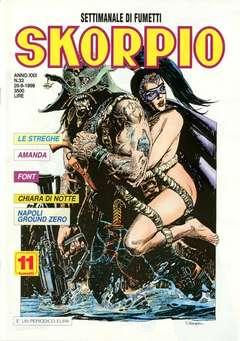 Copertina SKORPIO ANNO 22 n.33 - SKORPIO 1998            33, EDITORIALE AUREA
