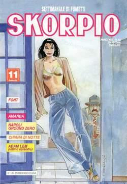 Copertina SKORPIO ANNO 22 n.43 - SKORPIO 1998            43, EDITORIALE AUREA