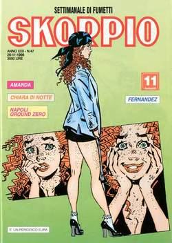 Copertina SKORPIO ANNO 22 n.47 - SKORPIO 1998            47, EDITORIALE AUREA