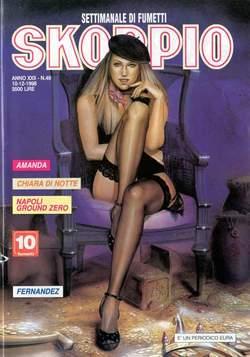 Copertina SKORPIO ANNO 22 n.49 - SKORPIO 1998            49, EDITORIALE AUREA