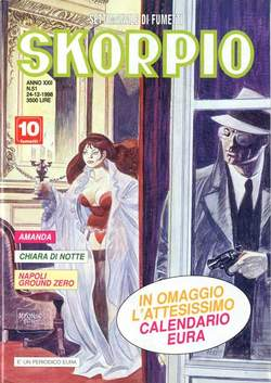 Copertina SKORPIO ANNO 22 n.51 - SKORPIO 1998            51, EDITORIALE AUREA
