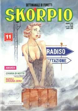 Copertina SKORPIO ANNO 22 n.52 - SKORPIO 1998            52, EDITORIALE AUREA