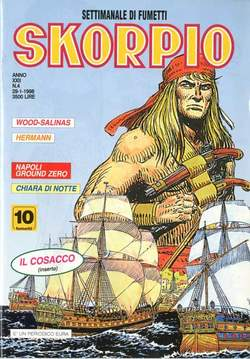 Copertina SKORPIO ANNO 22 n.4 - SKORPIO 1998             4, EDITORIALE AUREA