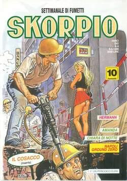 Copertina SKORPIO ANNO 22 n.9 - SKORPIO 1998             9, EDITORIALE AUREA