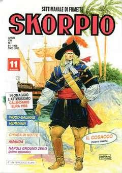 Copertina SKORPIO ANNO 22 n.1 - SKORPIO 1998             1, EDITORIALE AUREA