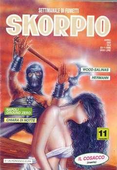 Copertina SKORPIO ANNO 22 n.3 - SKORPIO 1998             3, EDITORIALE AUREA