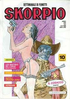 Copertina SKORPIO ANNO 22 n.5 - SKORPIO 1998             5, EDITORIALE AUREA