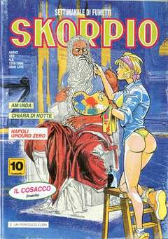 Copertina SKORPIO ANNO 22 n.6 - SKORPIO 1998             6, EDITORIALE AUREA