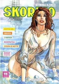 Copertina SKORPIO ANNO 23 n.12 - SKORPIO 1999            12, EDITORIALE AUREA