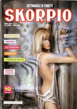 Copertina SKORPIO ANNO 23 n.14 - SKORPIO 1999            14, EDITORIALE AUREA