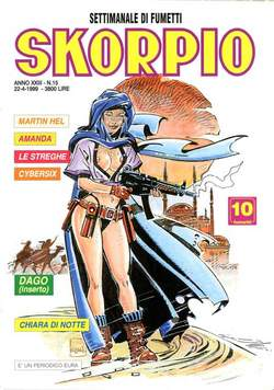 Copertina SKORPIO ANNO 23 n.15 - SKORPIO 1999            15, EDITORIALE AUREA