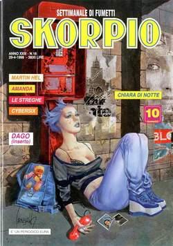 Copertina SKORPIO ANNO 23 n.16 - SKORPIO 1999            16, EDITORIALE AUREA