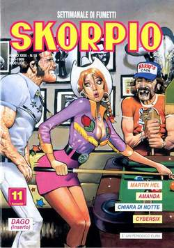 Copertina SKORPIO ANNO 23 n.18 - SKORPIO 1999            18, EDITORIALE AUREA