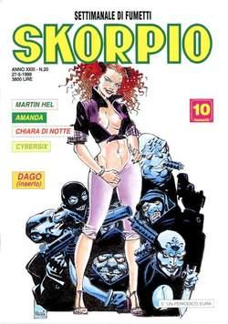 Copertina SKORPIO ANNO 23 n.20 - SKORPIO 1999            20, EDITORIALE AUREA