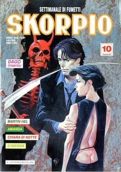 Copertina SKORPIO ANNO 23 n.21 - SKORPIO 1999            21, EDITORIALE AUREA