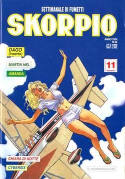 Copertina SKORPIO ANNO 23 n.24 - SKORPIO 1999            24, EDITORIALE AUREA