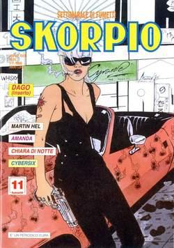 Copertina SKORPIO ANNO 23 n.25 - SKORPIO 1999            25, EDITORIALE AUREA