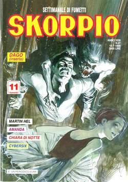 Copertina SKORPIO ANNO 23 n.27 - SKORPIO 1999            27, EDITORIALE AUREA
