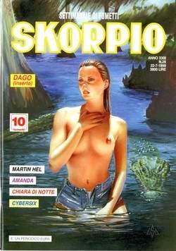 Copertina SKORPIO ANNO 23 n.28 - SKORPIO 1999            28, EDITORIALE AUREA