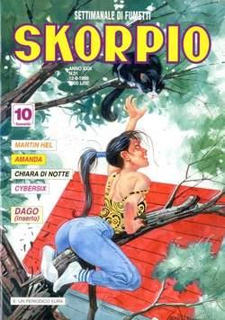 Copertina SKORPIO ANNO 23 n.31 - SKORPIO 1999            31, EDITORIALE AUREA