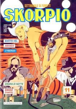 Copertina SKORPIO ANNO 23 n.39 - SKORPIO 1999            39, EDITORIALE AUREA