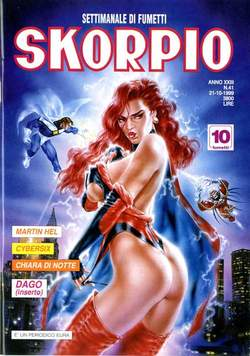 Copertina SKORPIO ANNO 23 n.41 - SKORPIO 1999            41, EDITORIALE AUREA